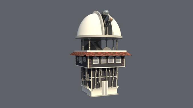 computer game by Doris Rush - Soteria: Observatory art by Diana Kogan