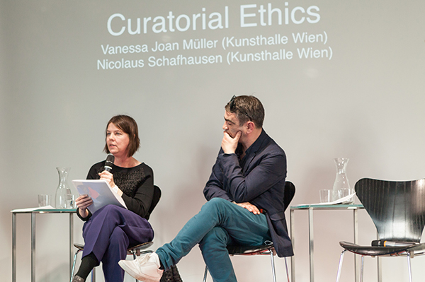 Curatorial Ethics Vanessa Joan Müller and Nicolaus Schafhausen